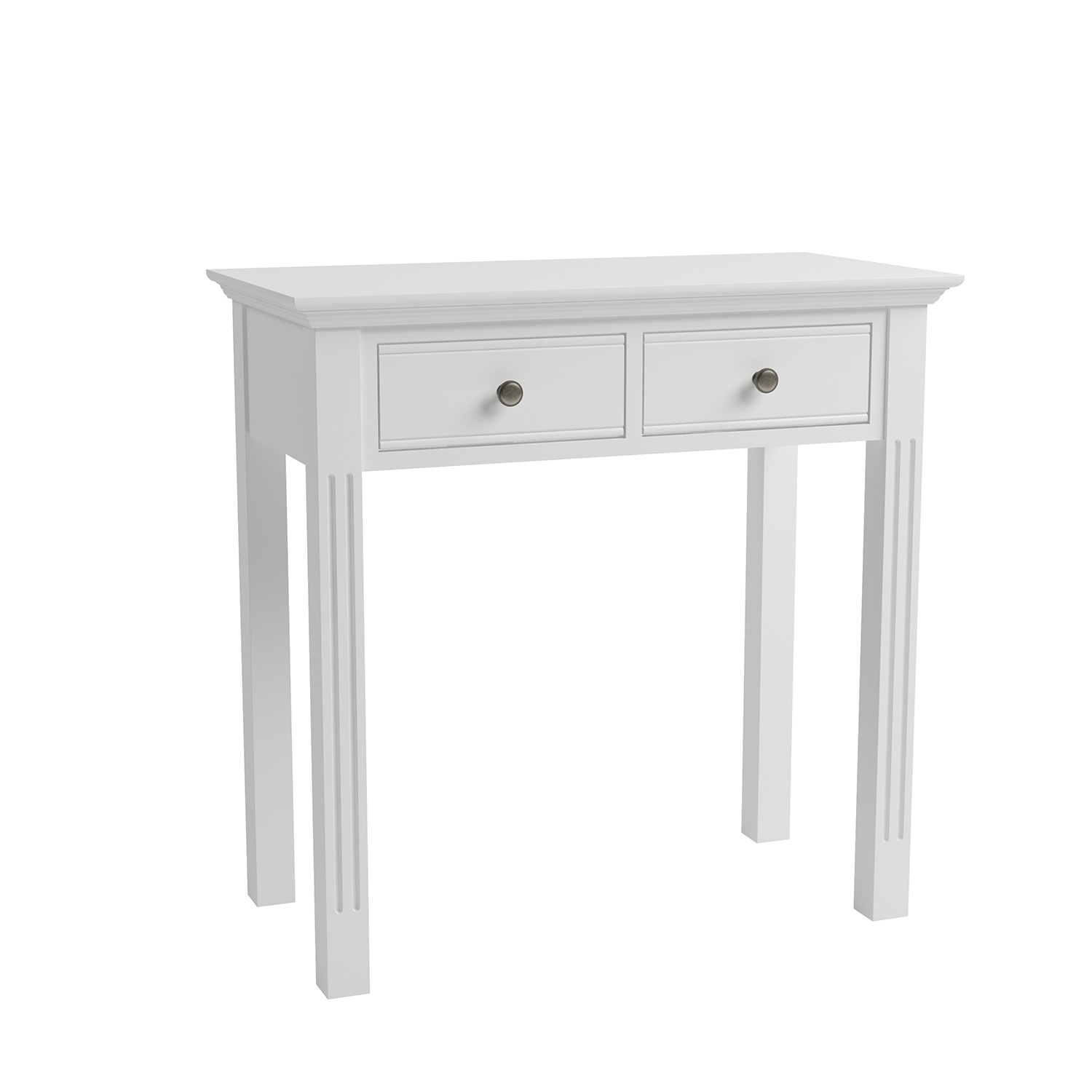 Whitby White Dressing Table