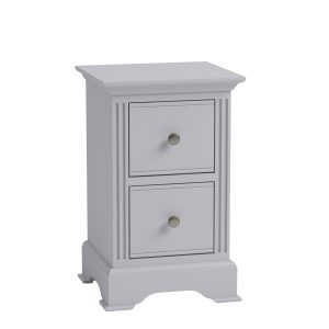 Whitby Grey Small Bedside