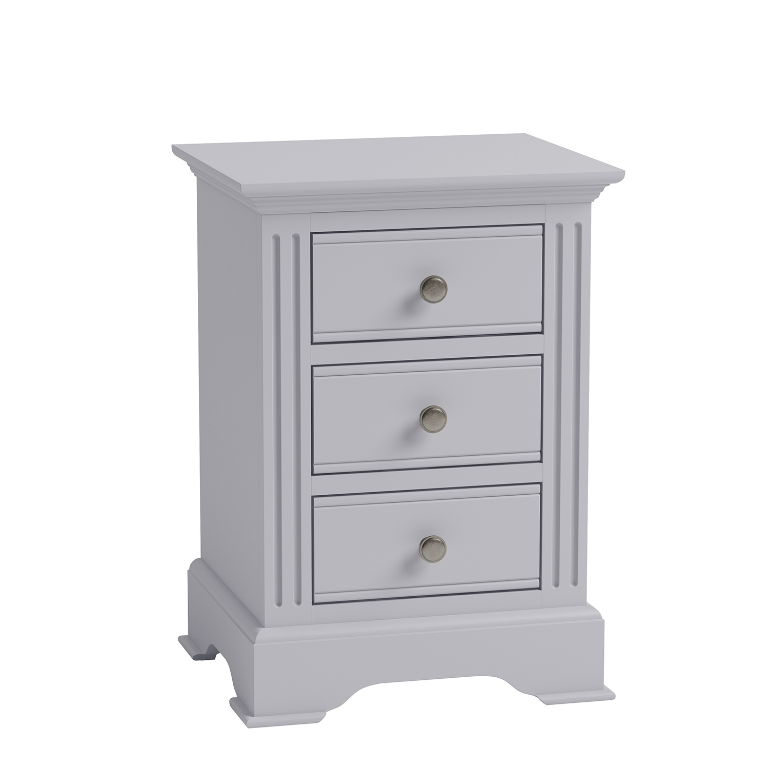 Whitby Grey Large Bedside