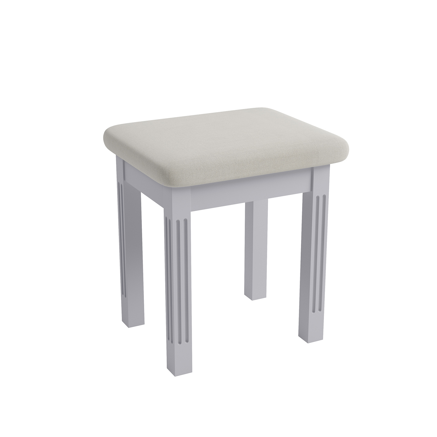 Whitby Grey Stool