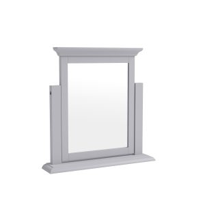 Whitby Grey Trinket Mirror