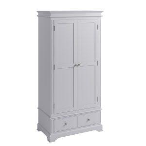 Whitby Grey 2 Door Wardrobe