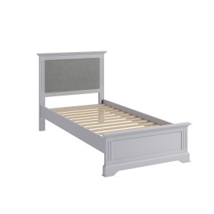 Whitby Grey Single 90cm Bedstead