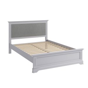 Whitby Grey Double 135cm Bedstead