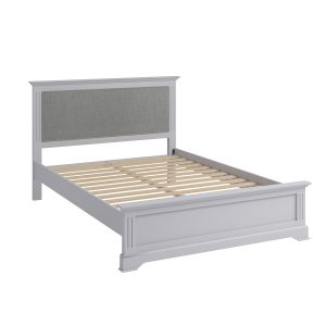 Whitby Grey King 150cm Bedstead