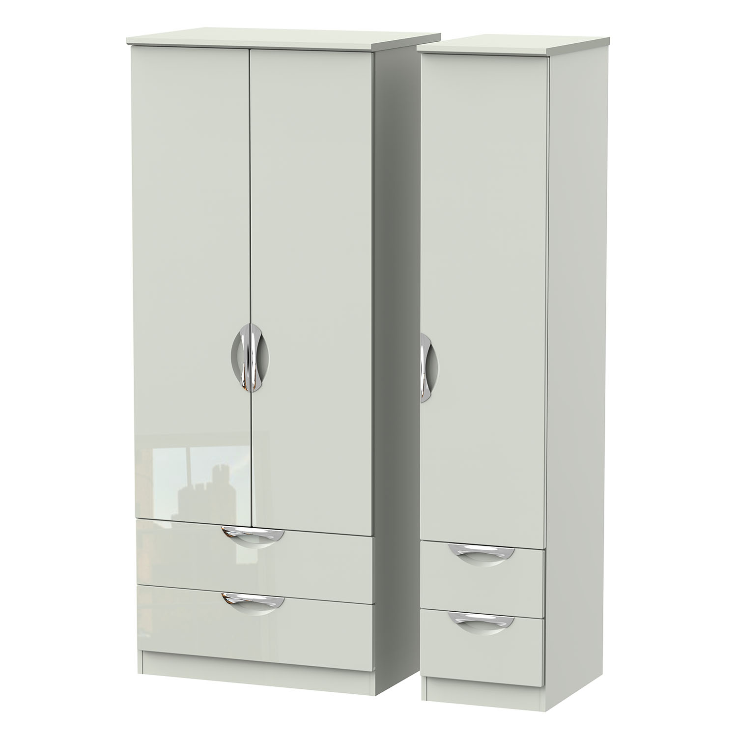 Camden Triple 2 Drawer + Drawer Robe