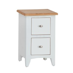 Hurstley Painted Small Bedside Chest