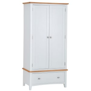 Hurstley Painted Wardrobe with Drawers