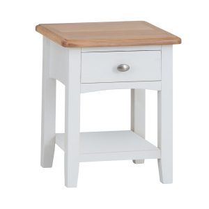 Hurstley Painted Lamp Table