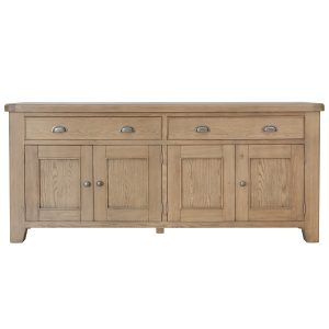 Heritage Oak 4 Door Sideboard