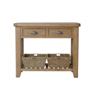 Heritage Oak Console Table
