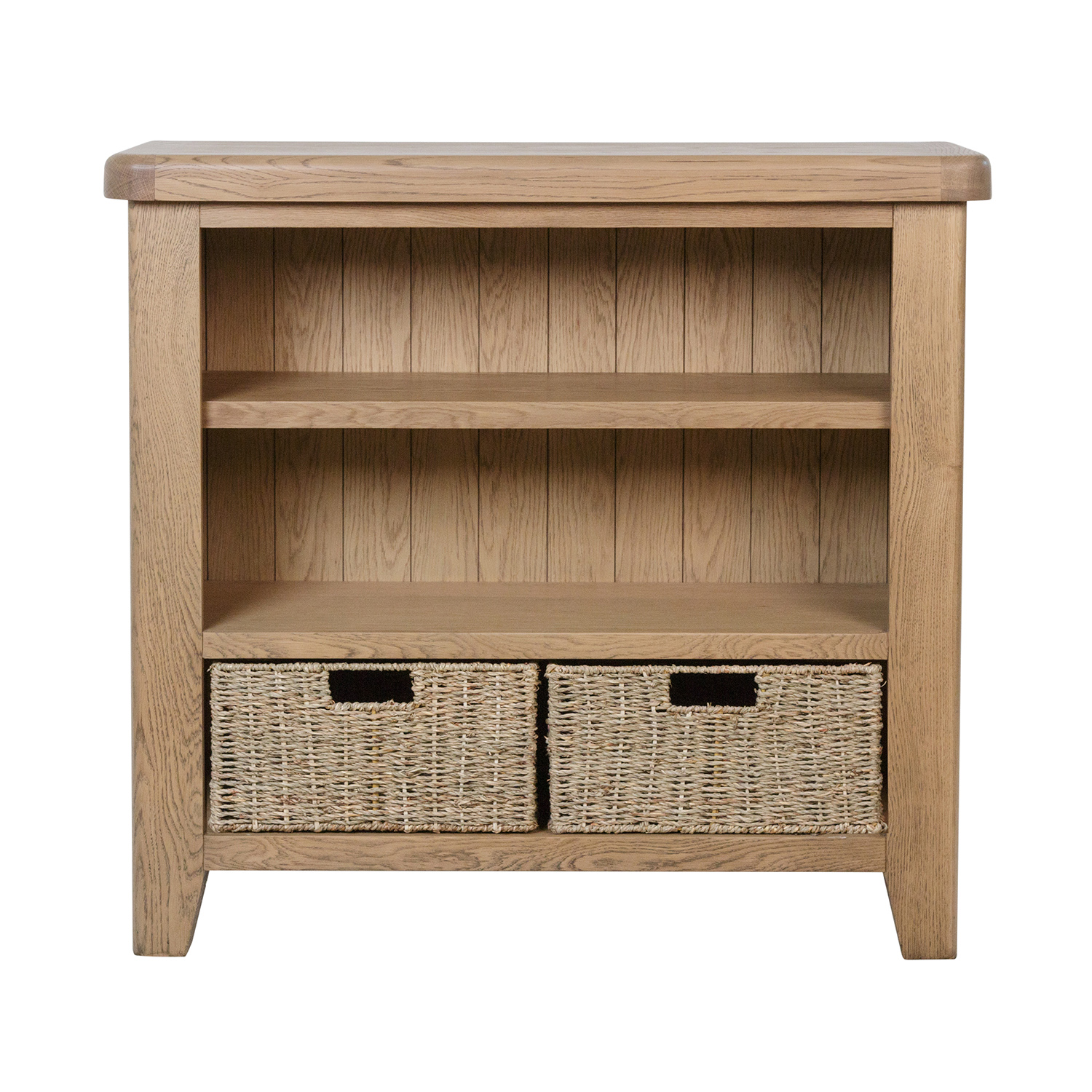Heritage Oak Small Bookcase
