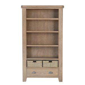 Heritage Oak Large Bookcase