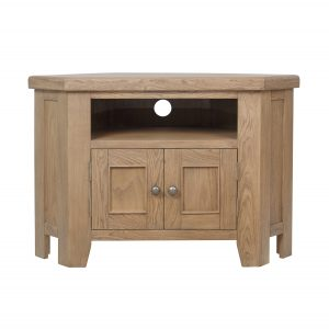 Heritage Oak Corner TV Unit