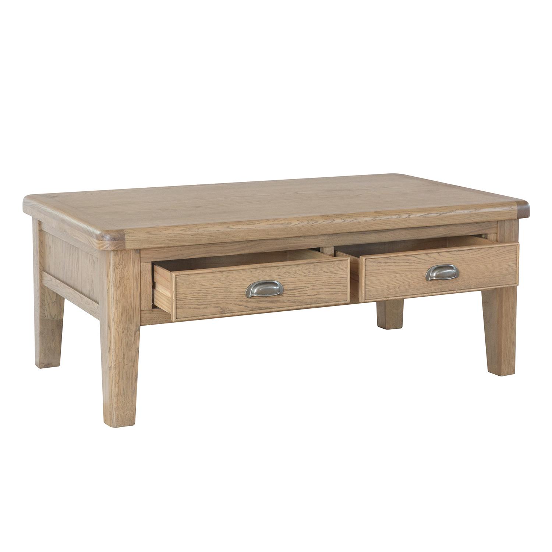 Heritage Oak Large Coffee Table