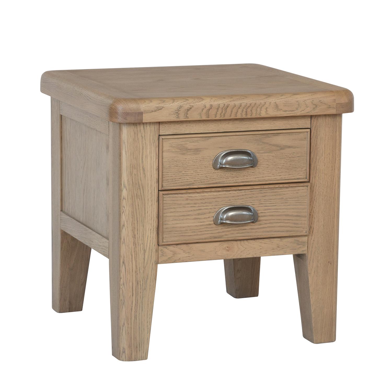 Heritage Oak Lamp Table