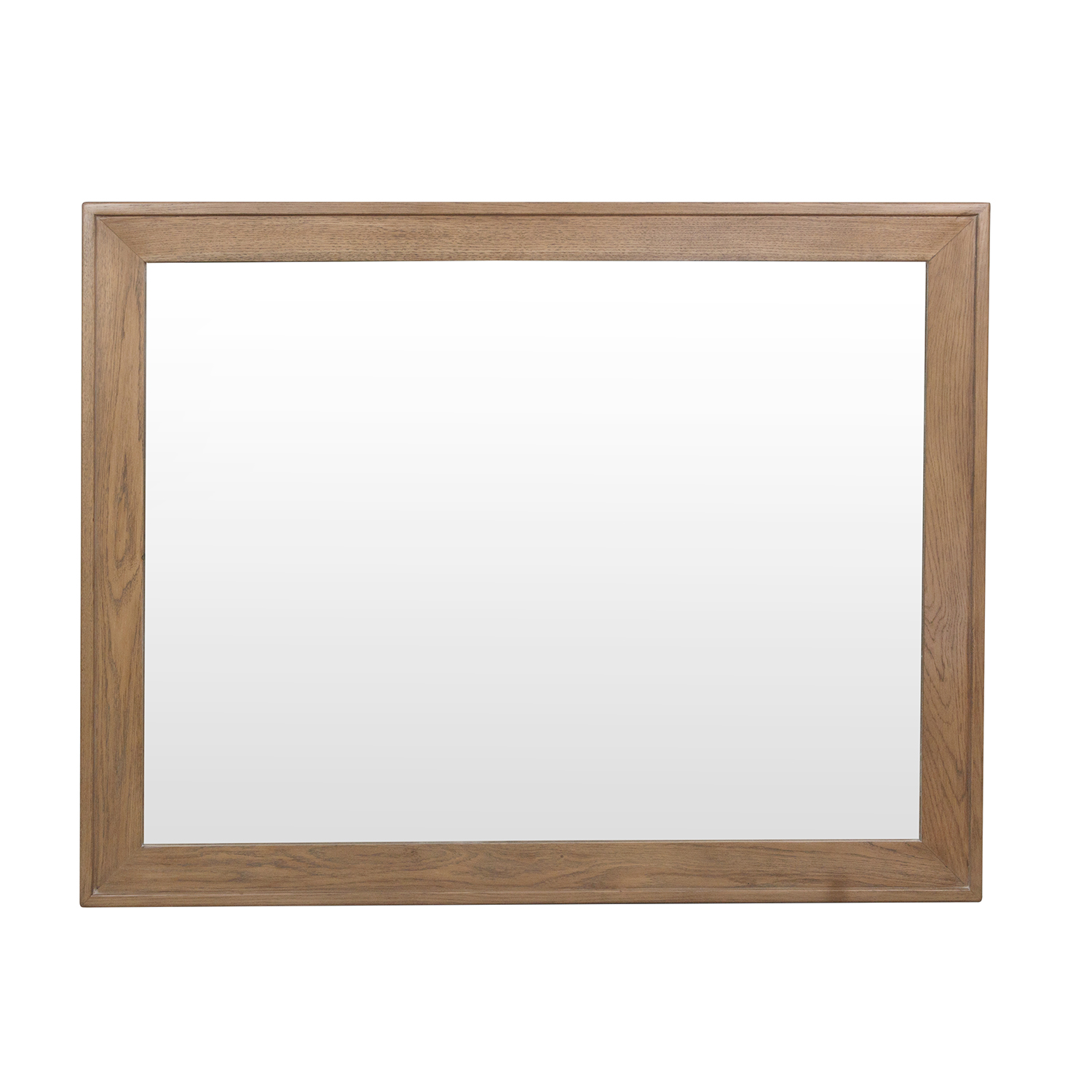 Heritage Oak Wall Mirror
