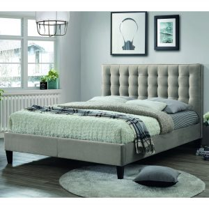 Brooke Double 135cm Bedstead - Champagne