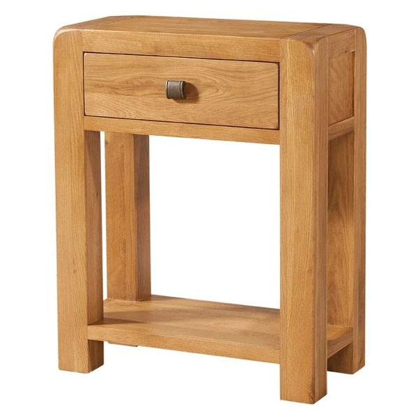Trent Small Console 1 Drawer and Shelf