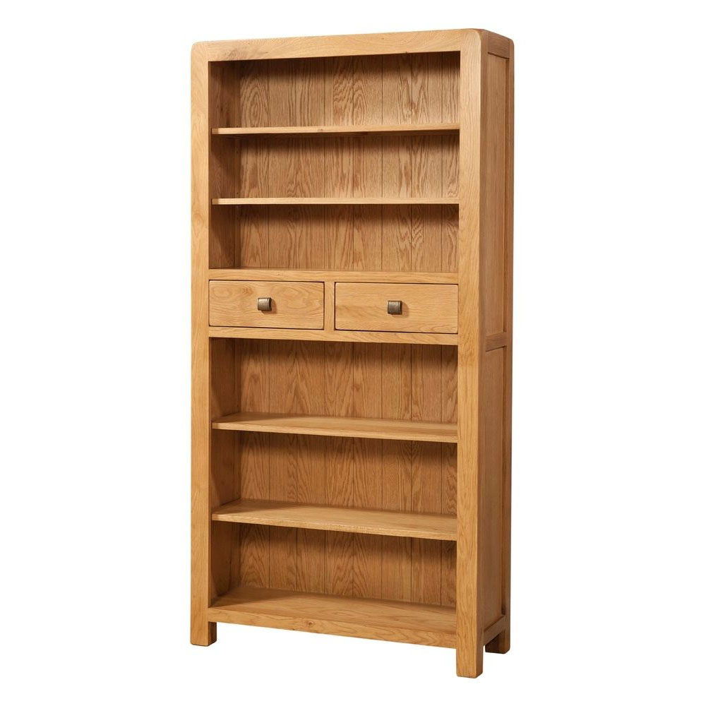 Trent Tall Bookcase with 2 Drawers