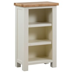 Maiden Oak Painted Small Bookcase