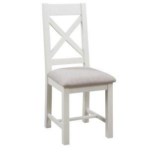 Maiden Oak Painted Cross Back Chair