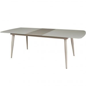 Oasis White Large Extending Dining Table