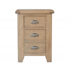 Heritage Oak Large Bedside Chest
