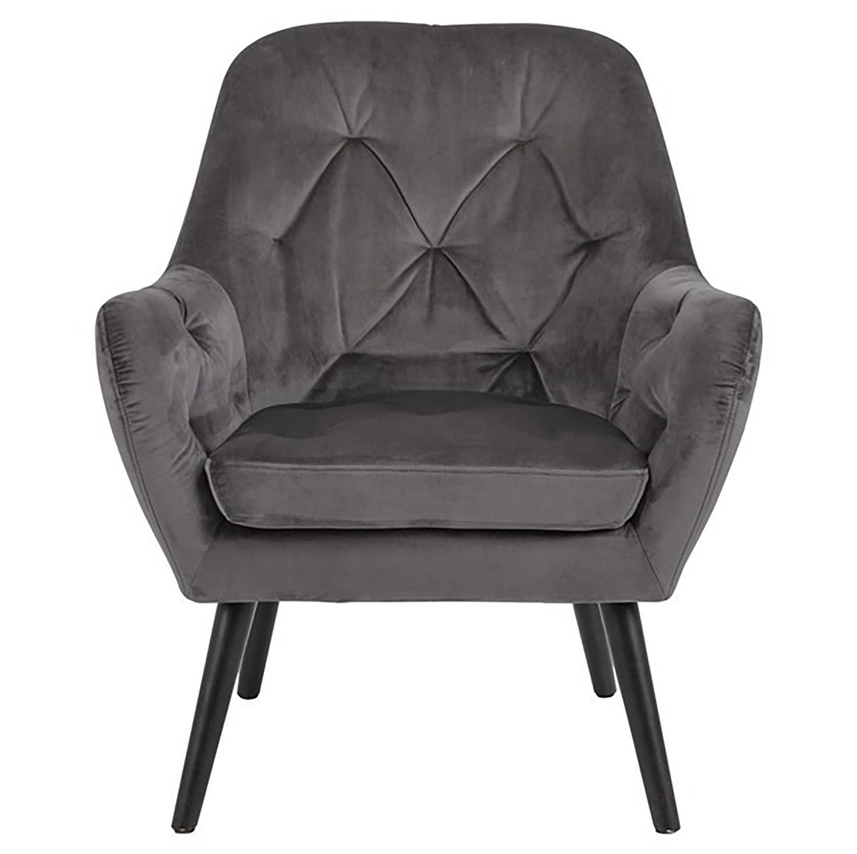 Cartina Accent Chair - Dark Grey