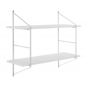 Benjamin Wall Unit White/White