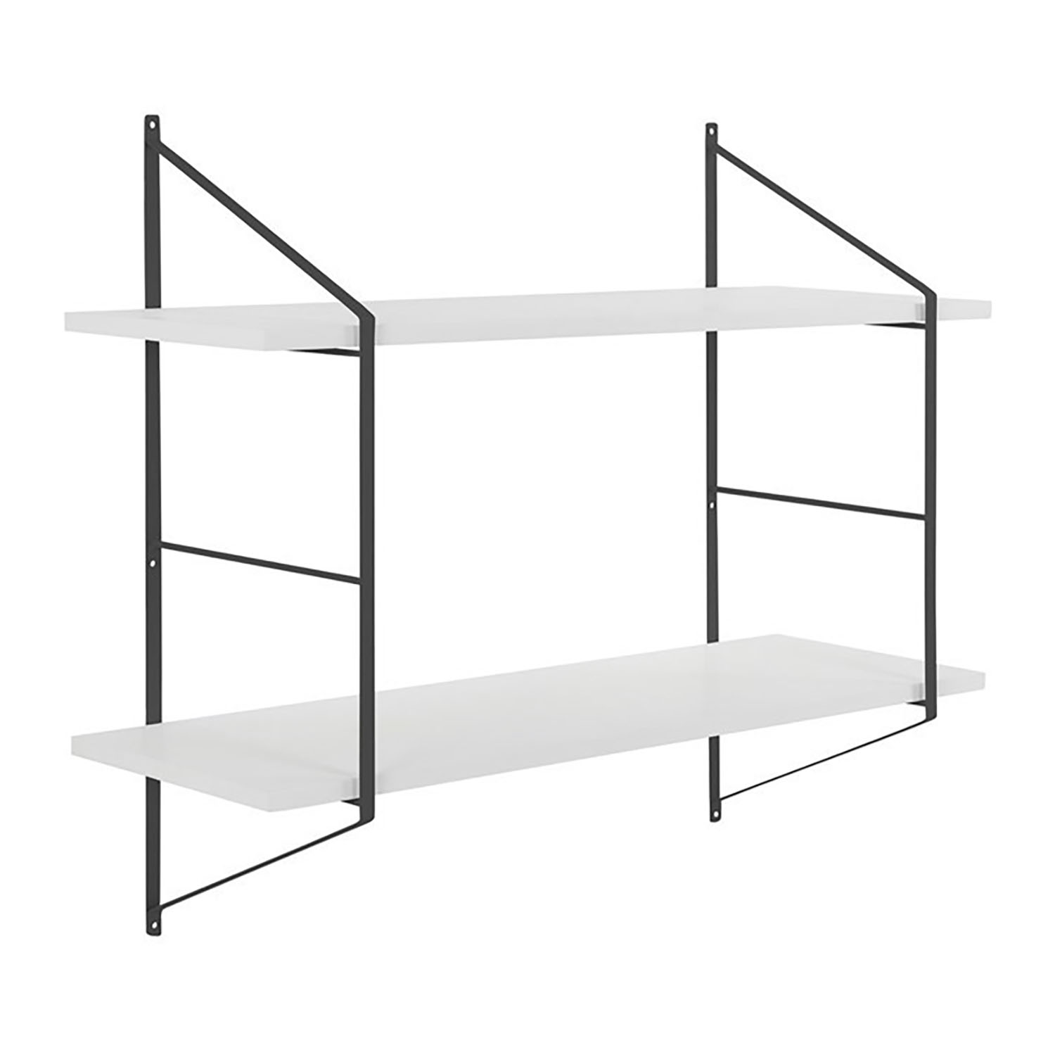 Benjamin Wall Unit White/Black