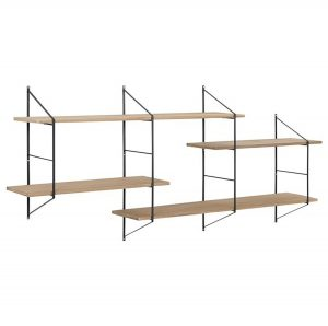 Benjamin Wall Unit 2 Natural/Black