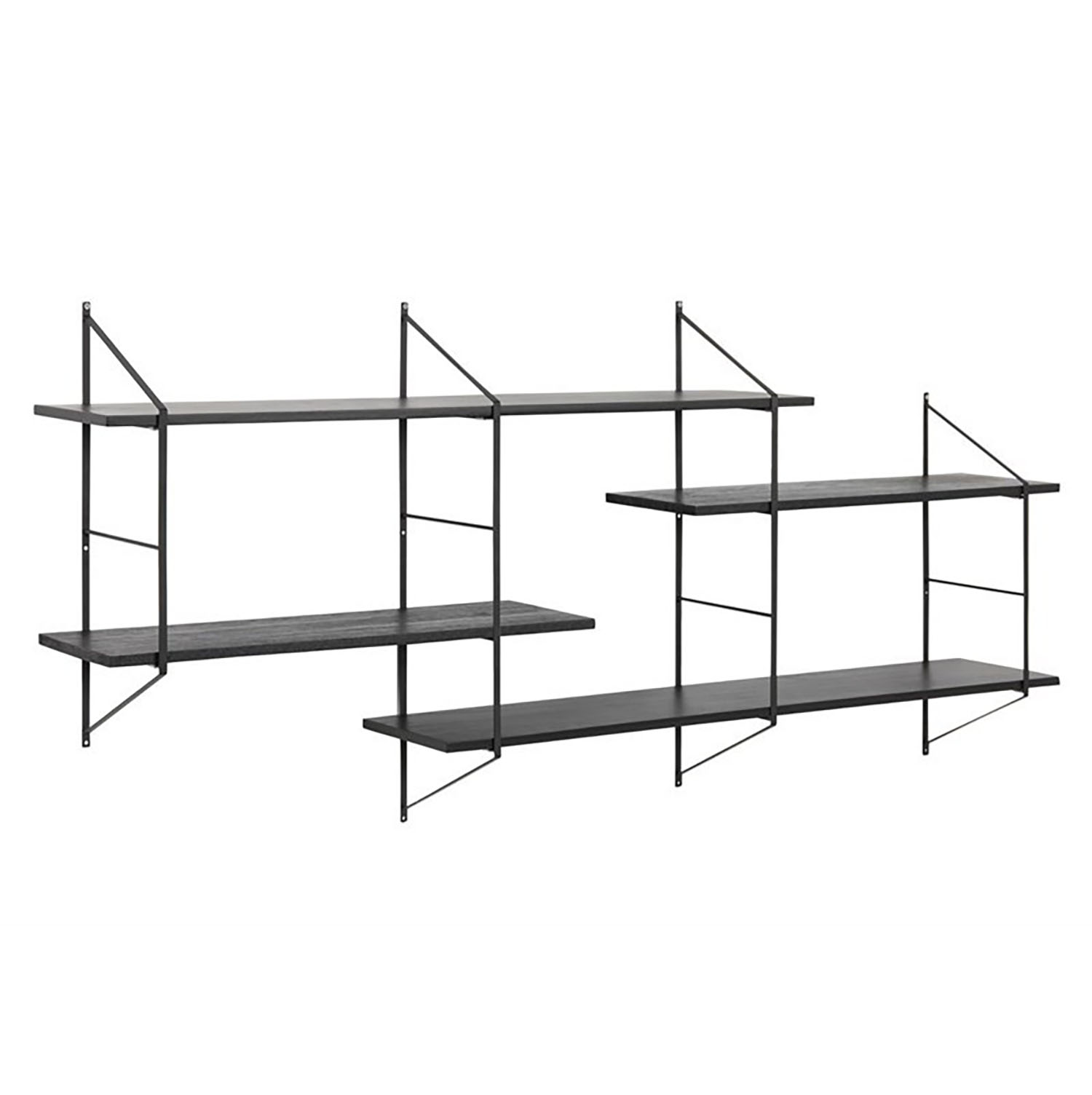 Benjamin Wall Unit 2 Black/Black