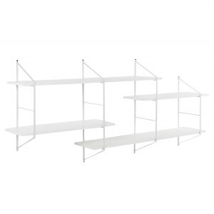 Benjamin Wall Unit 2 White/White