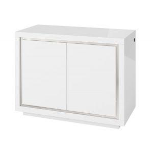 Bremen 2 Door Sideboard with LED White