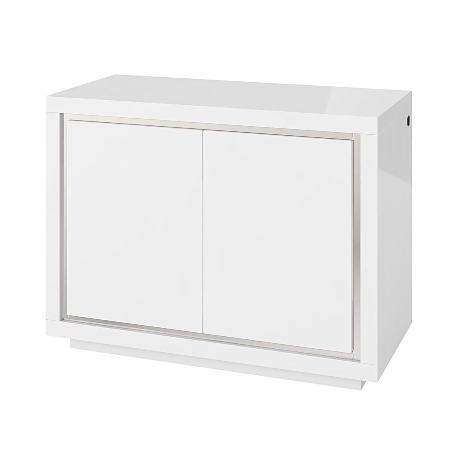 Bremen 2 Door Sideboard with LED White
