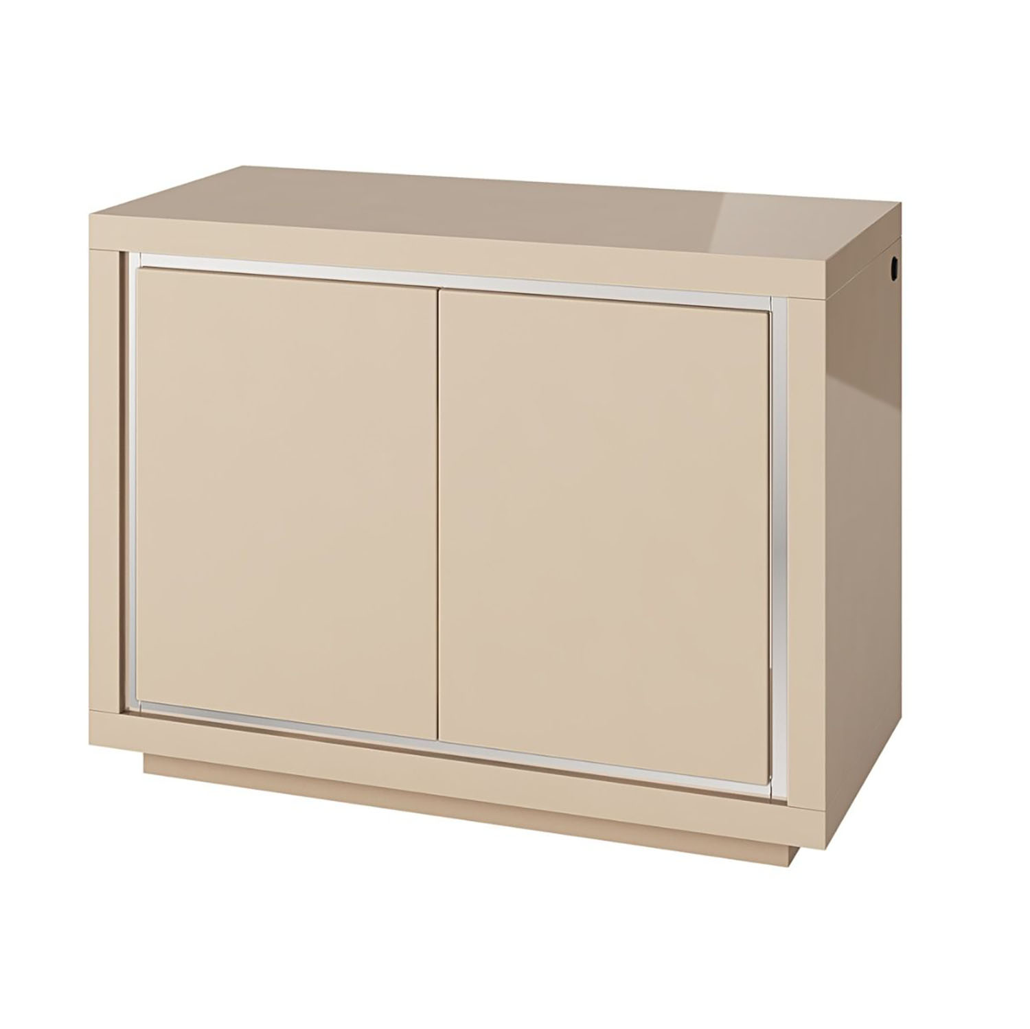 Bremen 2 Door Sideboard with LED Cream