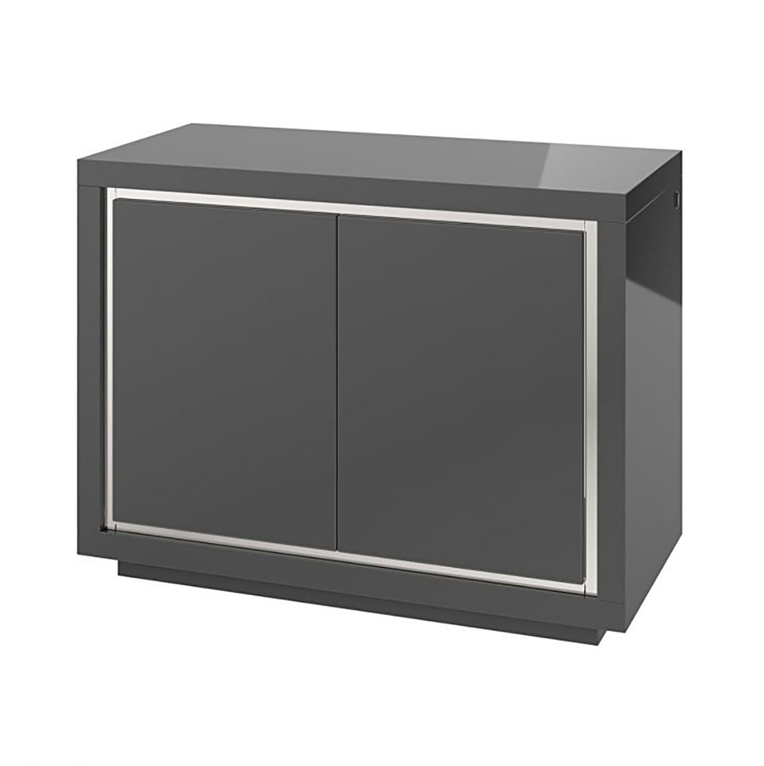 Bremen 2 Door Sideboard with LED Grey
