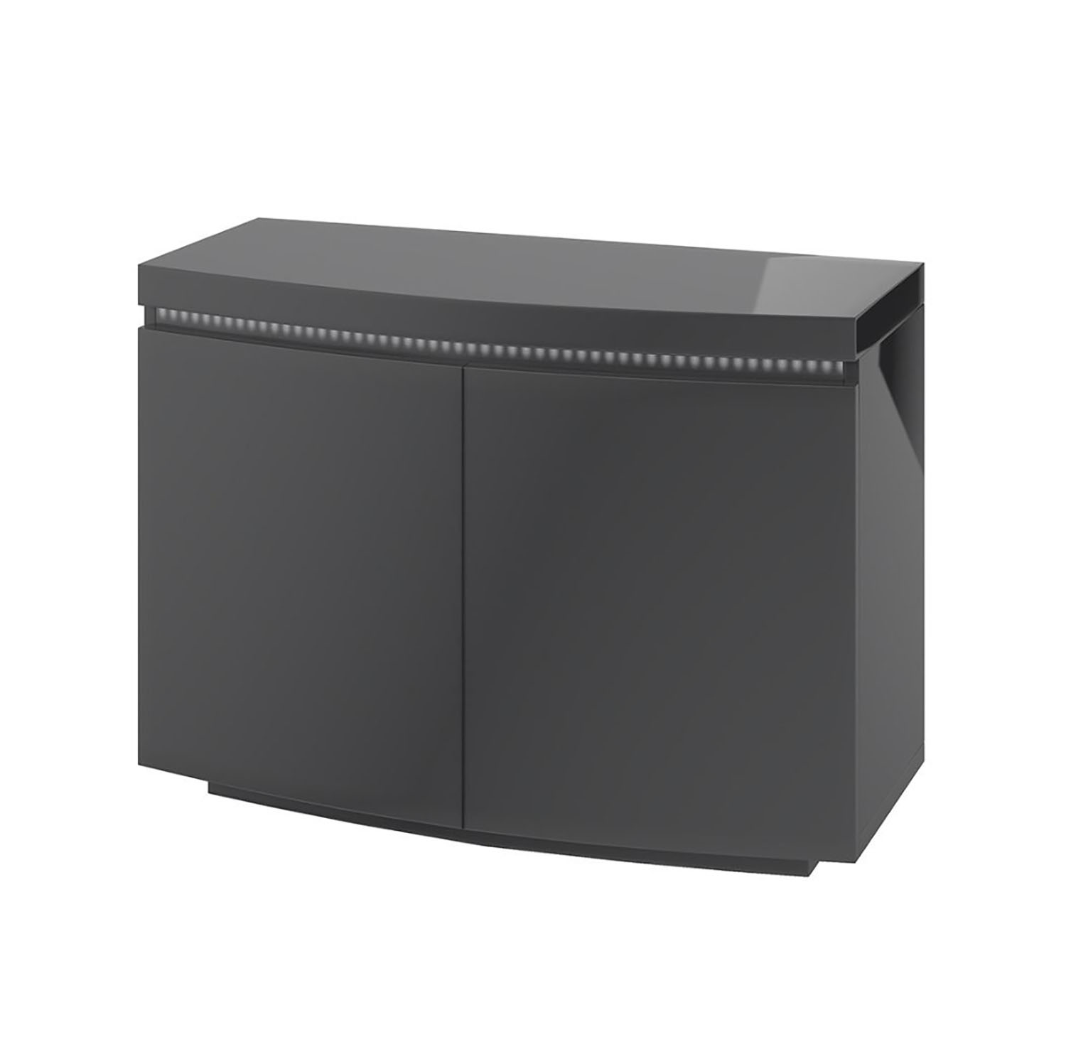Florence 2 Door Sideboard with LED Grey