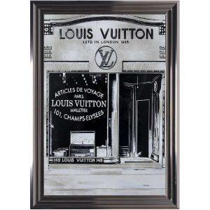 Louis Vuitton Silver Picture 55x75