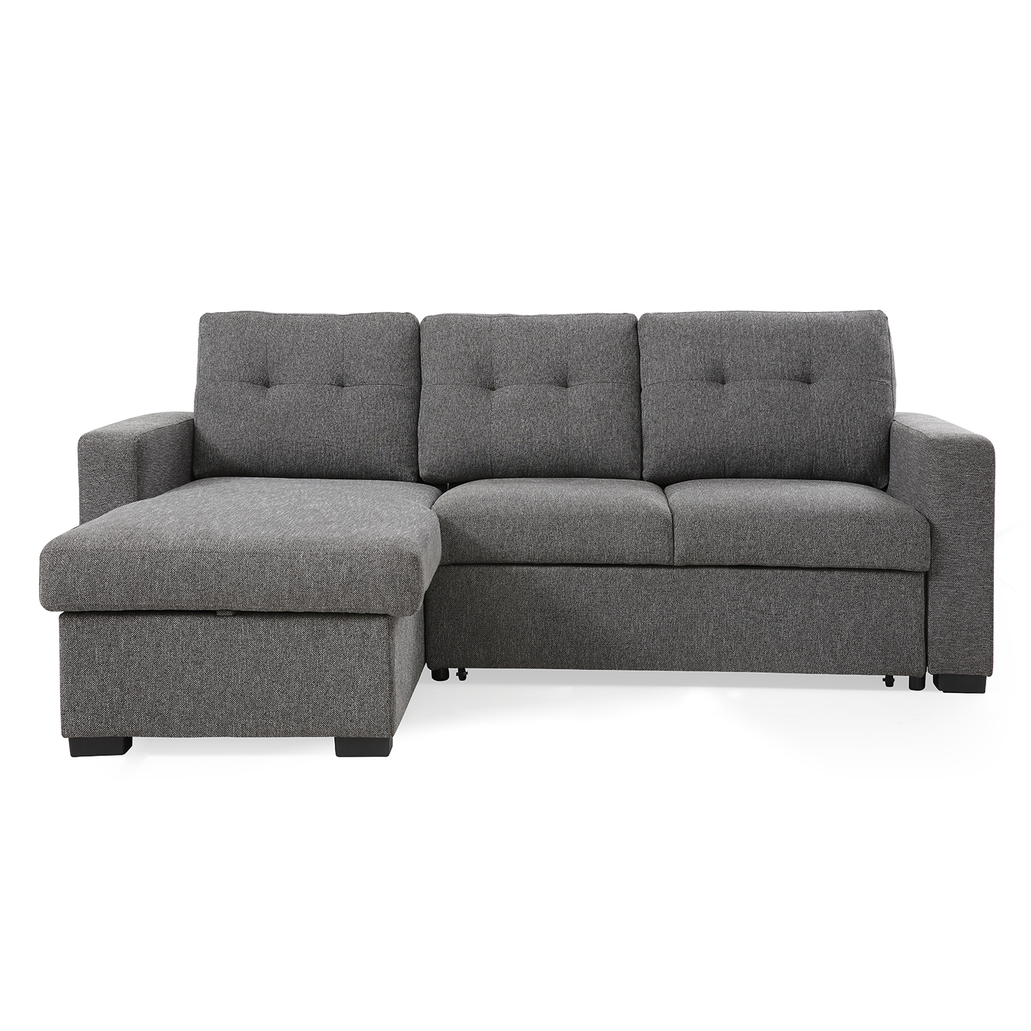 Harrison Corner Sofa Bed Grey