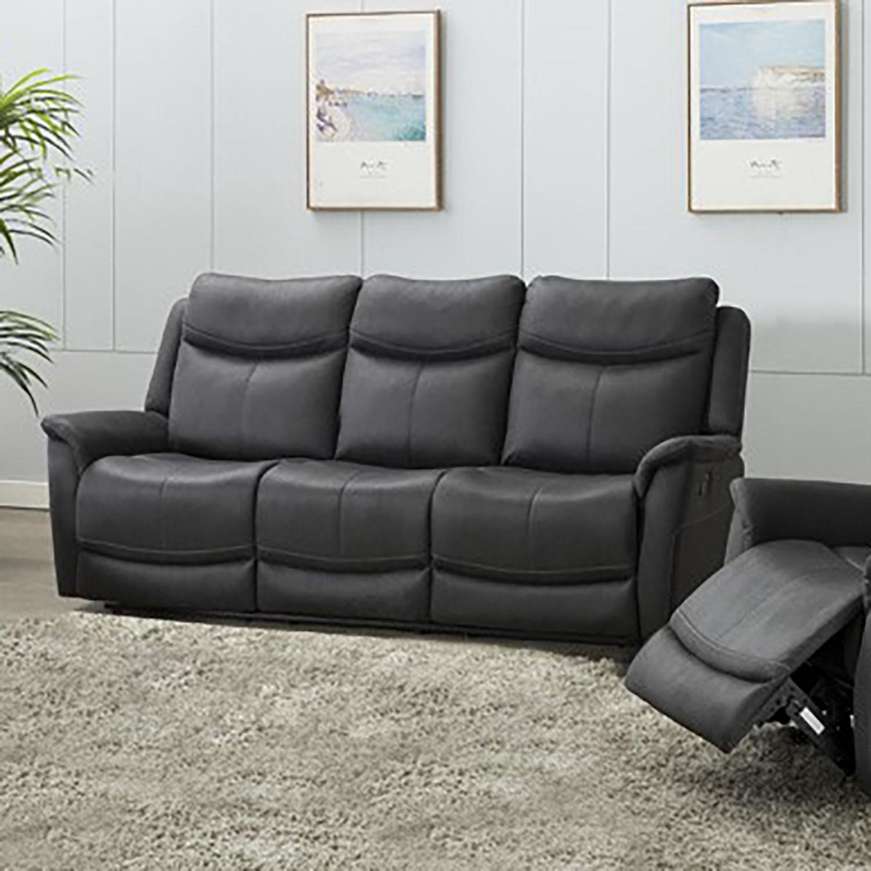 Ancona 3 Seater Sofa - Slate