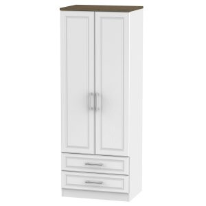 Kent Tall 2ft6in 2 Drawer Robe