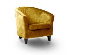 Bailey Accent Chair - Dove Turmeric