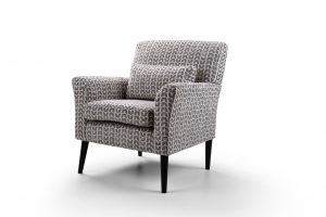 Denton Accent Chair - Isla Charcoal