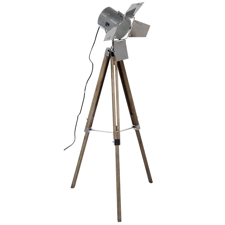 Tripod Film Floor Lamp