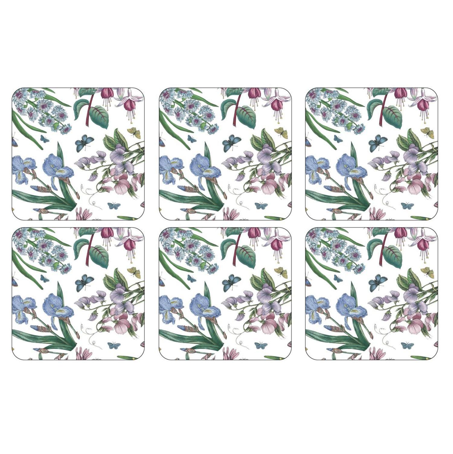 Pimpernel Botanic Garden Chintz Coasters Set of 6