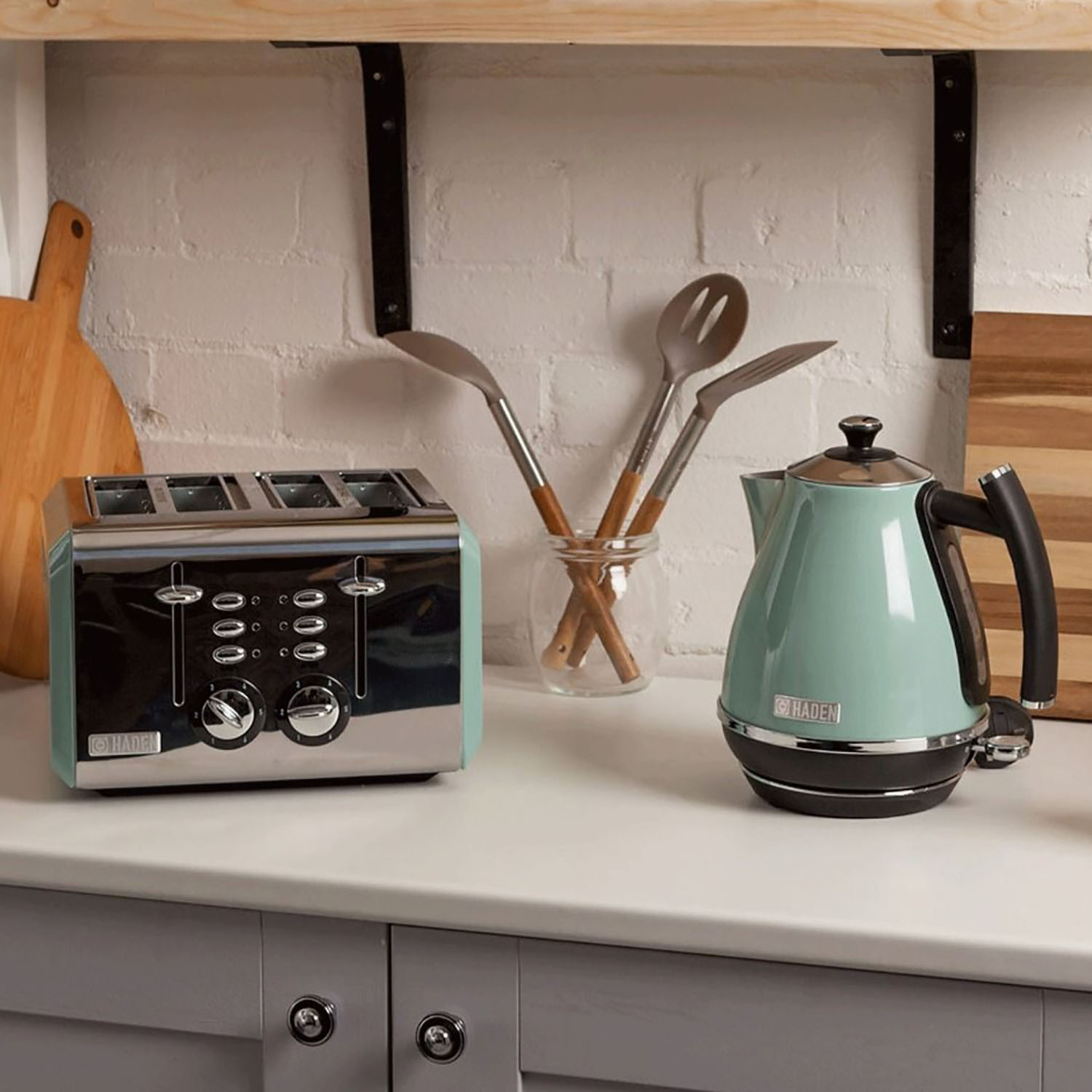 Haden Cotswold Toaster Sage