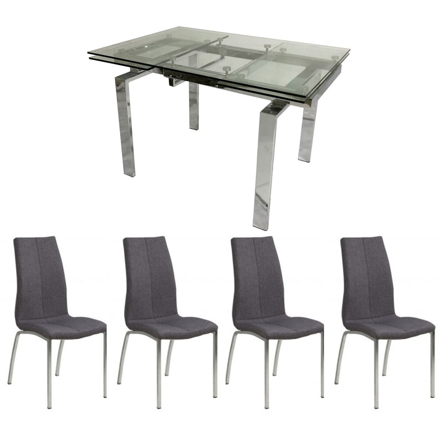 Hamlet Table and x4 Juliette Chairs Dining Set