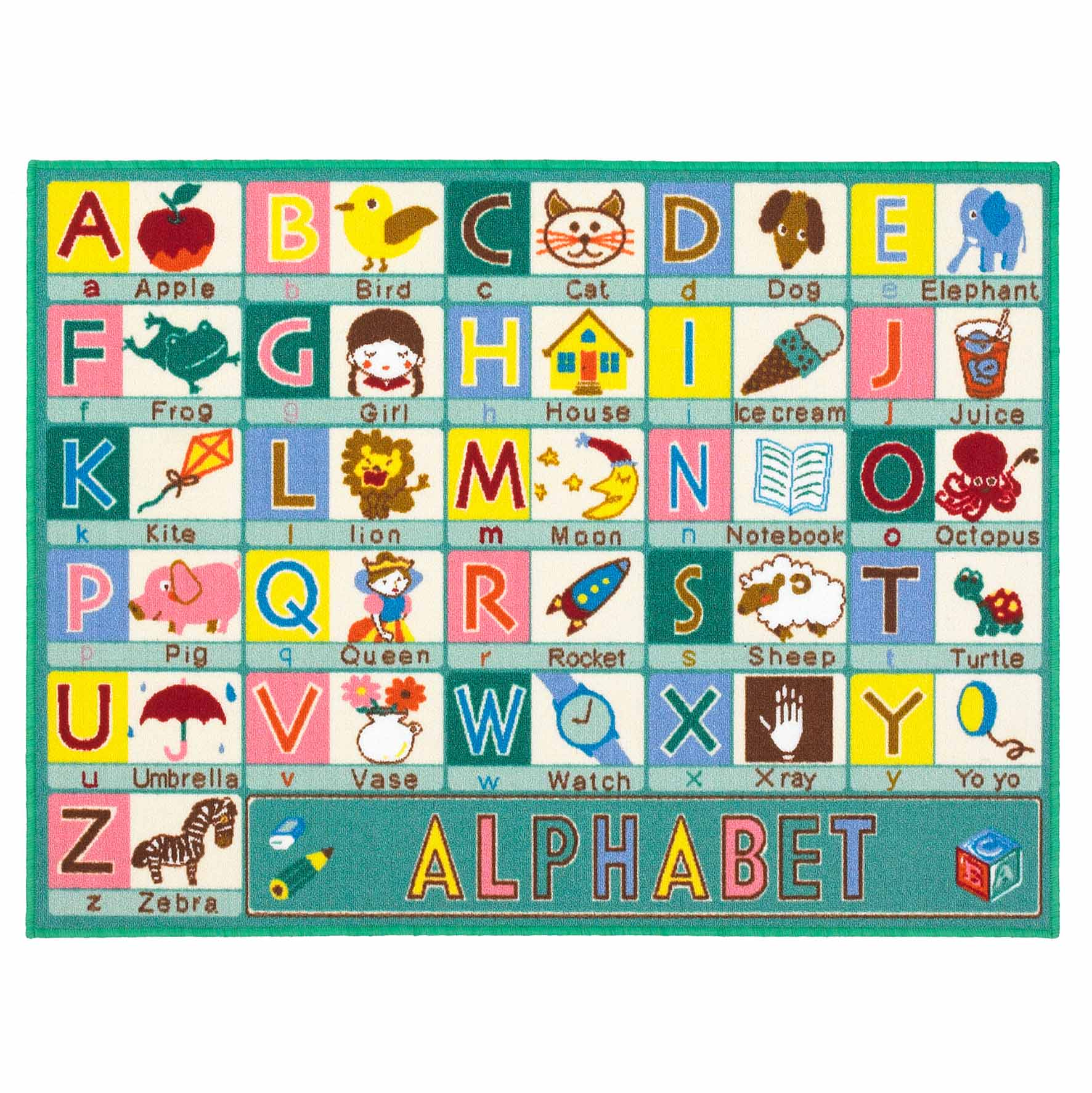 Kids Playtime ABC Mat 100x133